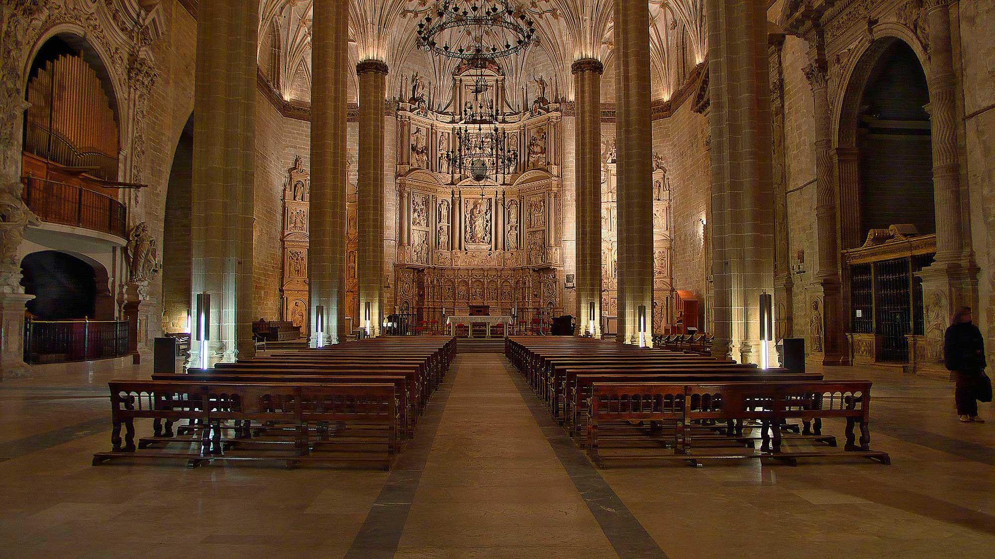 Catedral_de_Barbastro._InteriorCONGRESOSBARBASTRO